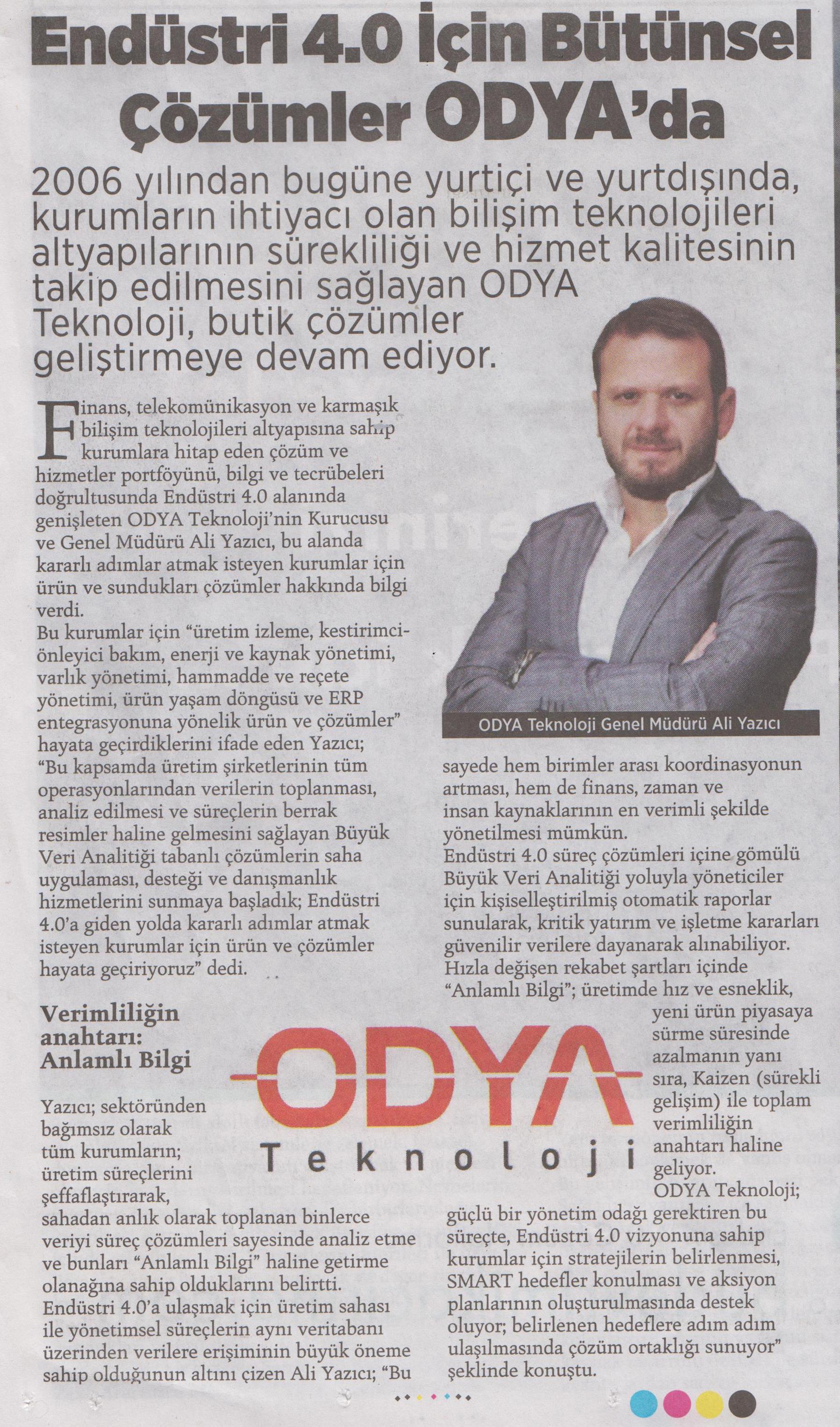 Milliyet Gazetesi Röportaj